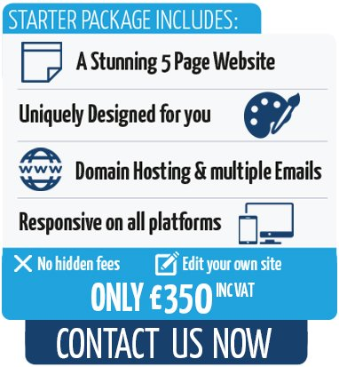 PixelGeek Web Design prices